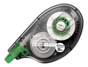 Tombow Mono Correction Tape in Clear Roller Case 4.2mm x 10m