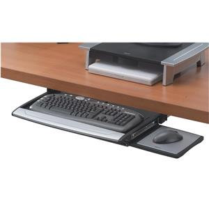 Fellowes Office Suites Deluxe Keyboard Drawer (Black/Silver)
