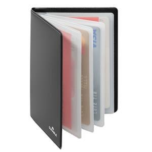 Durable Credit Card Wallet RFID Secure (Black)