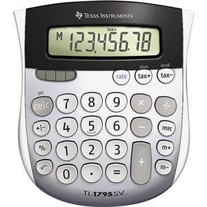 Texas Instruments TI-1795 SV Basic Calculator