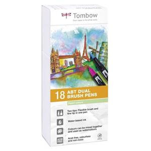 Tombow ABT Dual Brush Pens with 2 Tips (Pack of 18)