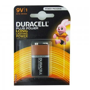 9V Duracell Plus Battery