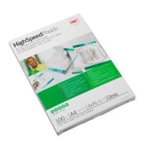 GBC (A4) Hi-Speed Laminating Pouches Premium Quality 150 Micron GBC Laminators