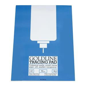 Goldline Professional Tracing Pad 90gsm 50 Sheets A2/A3/A4