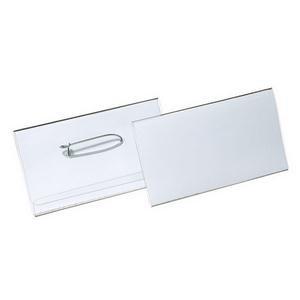 Durable (40x75mm) Combi Clip Badge