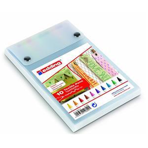 Edding 4600 Textile Pen Assorted Colours