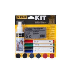 Bi-Office Magnetic Whiteboard Starter Kit