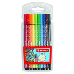 Stabilo Point 68 Fibre Tip Pen (Assorted)