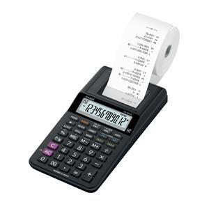 Casio HR-8RCE Mini Printing Calculator Euro Conversion Tax Calculation