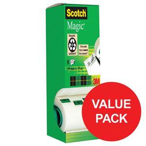 Scotch Magic 810 19mm x 33m Adhesive Tape Matt
