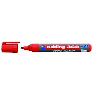 Edding 360 Whiteboard Marker Bullet Tip 1.5-3mm Line (Red)