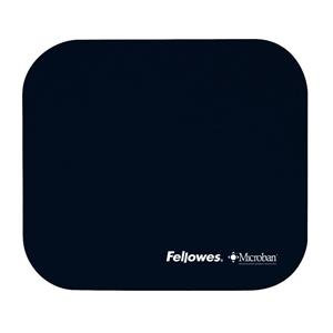 Fellowes Microban Antibacterial Mouse Pad with Non-Slip Base (Blue)
