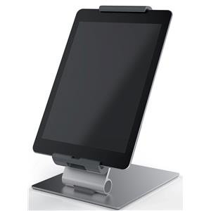 Durable Tablet PC Stand Aluminium + Free Cleaning Kit