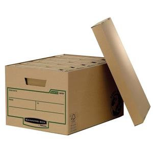 Fellowes Bankers Box Earth A4/Foolscap Large Storage Box with Lift off Lid
