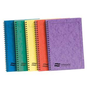 Europa Notemaker Book Sidebound Ruled 80gsm 120 Pages