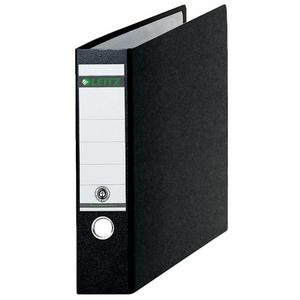 Esselte Leitz 180? Hardboard Lever Arch File A4 Oblong 77mm Black