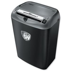 Fellowes 72CS Deskside Shredder Cross Cut 27 Litre DIN3 12 Sheet
