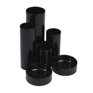 Deflecto Tube Tidy Black