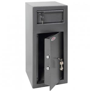 Phoenix Cashier Day Deposit Security Safe with Key Locks