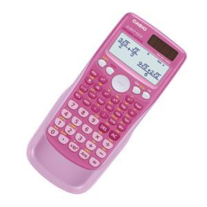 Casio FX-85GTPLUS-PK Twin-Powered Scientific Calculator (Pink)