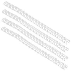 GBC Binding Wire Elements 34 Loop (White) for 70 Sheets 8mm A4