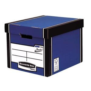 Fellowes Bankers Box Premium (A4/Foolscap) Archive Storage Box / Pack of 10