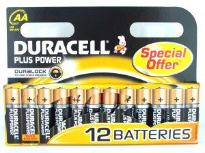 AA Duracell Plus Batteries