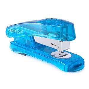 Rapesco Snapper Sea-Thru Half Strip Stapler (Blue)
