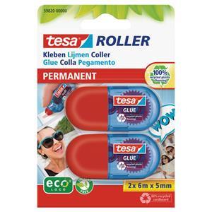 tesa ecoLogo (5mm x 6m) Mini Glue Roller Blister Packed