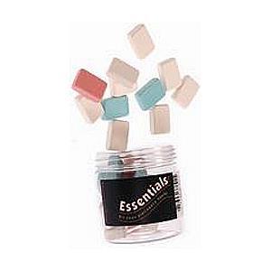 Essentials Pencil Erasers (Assorted)