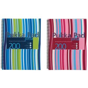 Pukka Pad A5 Jotta Pad Wirebound Polypropylene Cover 200 Pages 80gsm