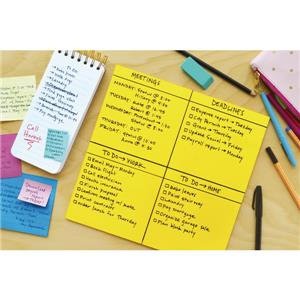 3M Post-it (560 x 560mm) Super Sticky Big Note Self-adhesive (Neon Green)