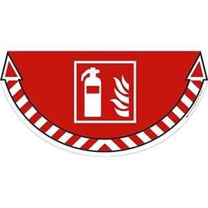 CEP TakeCare Fire Extinguishers Ground Warning Sign