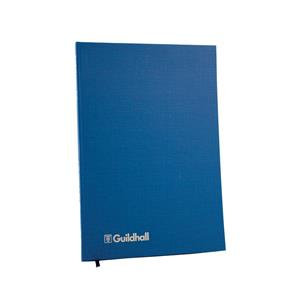 Guildhall 31 Series Account Book with 14 Cash Columns and 80 Pages Blue