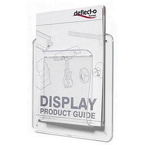 Deflecto Universal Chart and File Unbreakable Holder