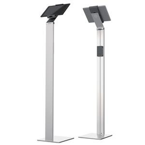 Durable Tablet Floor Stand (Silver)