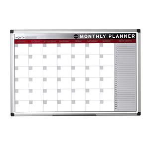Bi-Office (900 x 600mm) Magnetic Monthly Planner (Single)