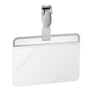 Durable (54x90mm) Self Laminating Name Badge (Transparent)