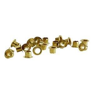 Rexel Circular Brass Eyelets (Copper)  Eyelets for Velos Eyeletter Punch
