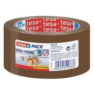 Tesa (50mm x 66m) Extra Strong Transparent Packaging Tape