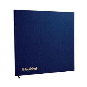 Guildhall 51 Series Account Book with 4-16 Petty Cash Columns and 80 Pages Blue