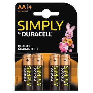 Duracell Simply Battery AA