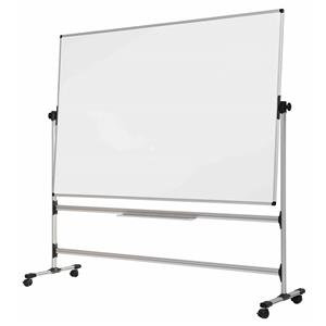 Bi-Office Earth-It (1500 x 1200mm) Mobile Revolving Whiteboard Non-Magnetic