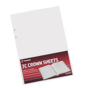 Twinlock 3C Crown Plain / Double Ledger Sheets