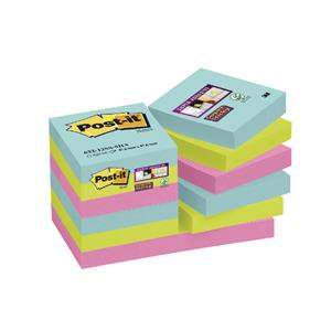 Post-It Super Sticky (47.6 x 47.6mm) Re-positional Note Pad / 90 Sheets