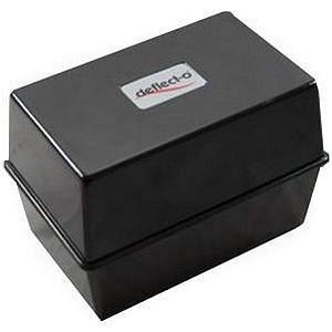 Deflecto Card Index Box