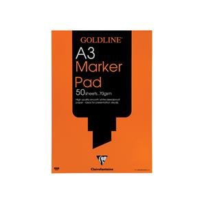 Goldline Marker Pad Bleedproof 70gsm 100 Pages