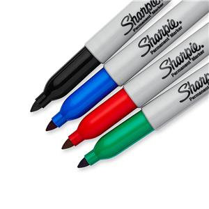 Sharpie Permanent Markers Fine Tip Assorted Colours