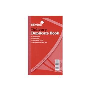 Silvine (210 x 127mm) Duplicate Book Delivery