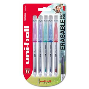 Uni-Ball Signo UF-220 Erasable Ball Pen Tip (0.7mm) Twin Tip Eraser / Pack of 5